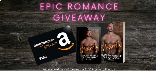 Steamy Authors Epic Romance Giveaway