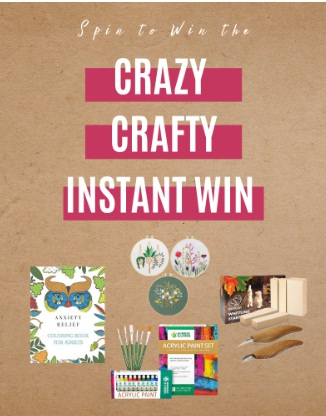 Steamy Kitchen Crazy Crafty Instant Win Game Sweepstakes