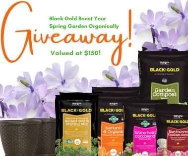 Sun Gro Horticulture Black Gold Boost Your Spring Garden Organically Giveaway