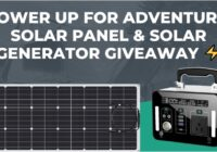 Torro Offroad Power Up For Adventure Solar Panel And Solar Generator Giveaway