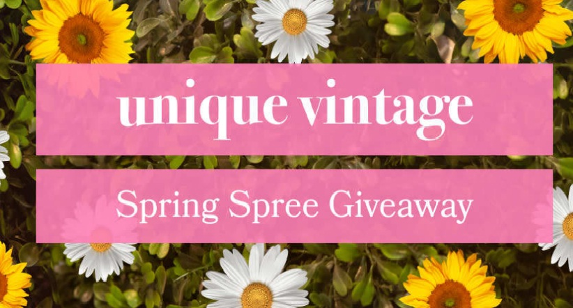 Unique Vintage Spring Spree Sweepstakes