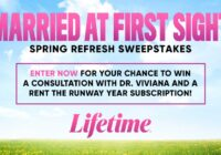 A And E Television Networks Lifetime Married At First Sight Spring Refresh Sweepstakes