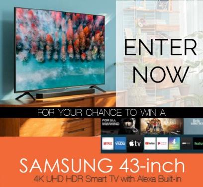 AJR Media Group Tour Texas Samsung TV Giveaway