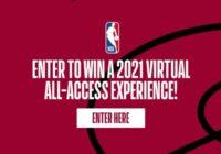 DAZN Media NBA Virtual All-Access Miami 2021 Prize Draw Contest