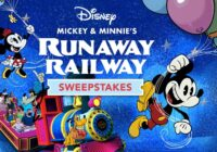 Disney Mickey And Minnie Runaway Railway Sweepstakes