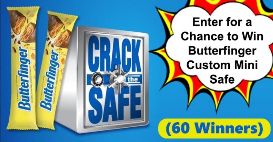Ferrero Butterfinger Crack The Safe Social Sweepstakes
