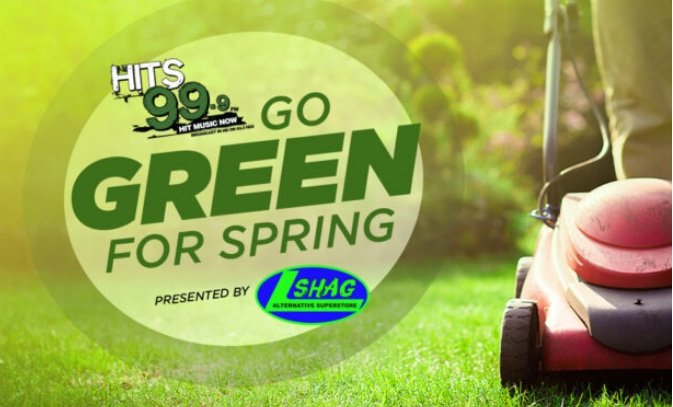 HITS 99.9 Go Green For Spring Sweepstakes