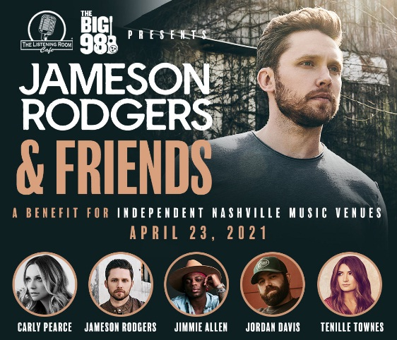 IHeartMedia Entertainment Jameson Rodgers And Friends Sweepstakes