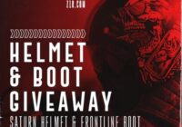 INKED Z1R Motorcycle Helmet And Boot Bundle Giveaway