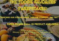 Innovation Brands Foodie Favorites Sweepstakes