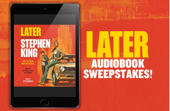 Jennifer Weiner Simon And Schuster Stephen King Later Sweepstakes