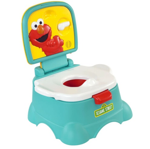 Kolcraft Sesame Street Elmo Hooray 3-in-1 Potty Giveaway