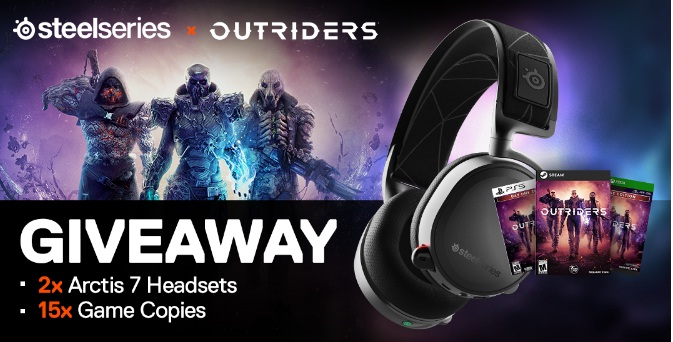 Outriders X SteelSeries Giveaway