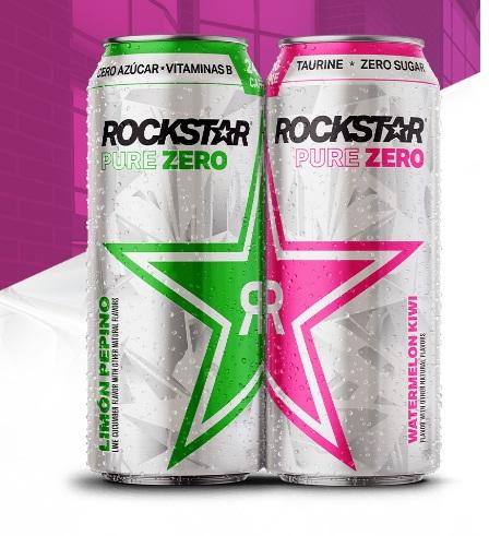 Pepsi-cola Company Rockstar Pure Zero Zero In On The Hustle Sweepstakes