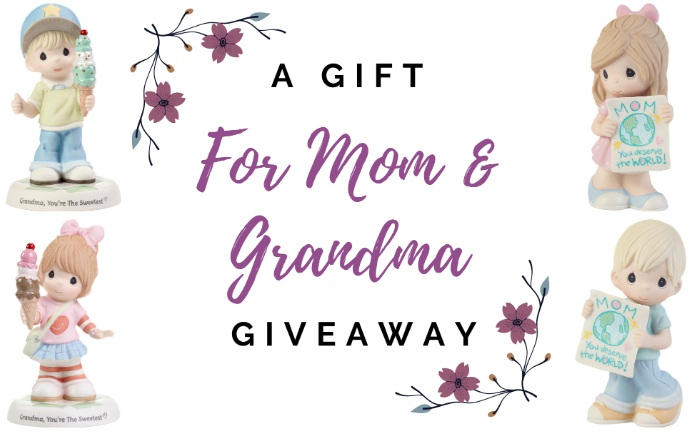 Precious Moments A Gift For Mom And Grandma Giveaway