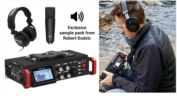 TASCAM Sound Production Bundle Giveaway