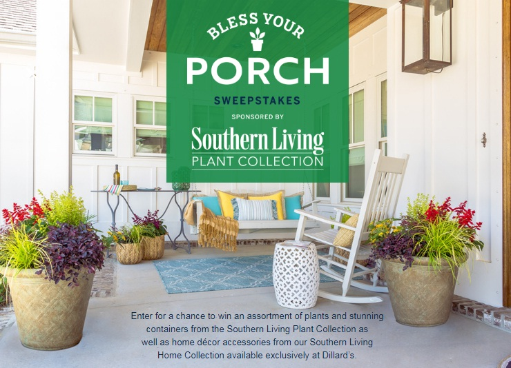 TI Media Solutions Southern Living Bless Your Porch Sweepstakes