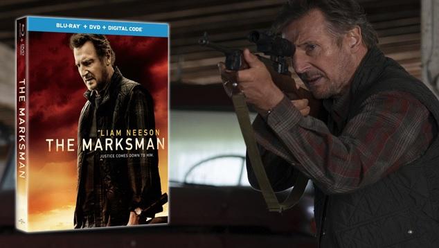 The Marksman Starring Liam Neeson On Blu-ray Combo Giveaway