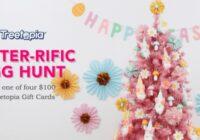 Treetopia Easterrific Egg Hunt Giveaway