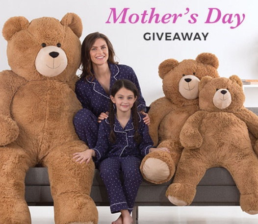 Vermont Teddy Bear Mother Day Giveaway