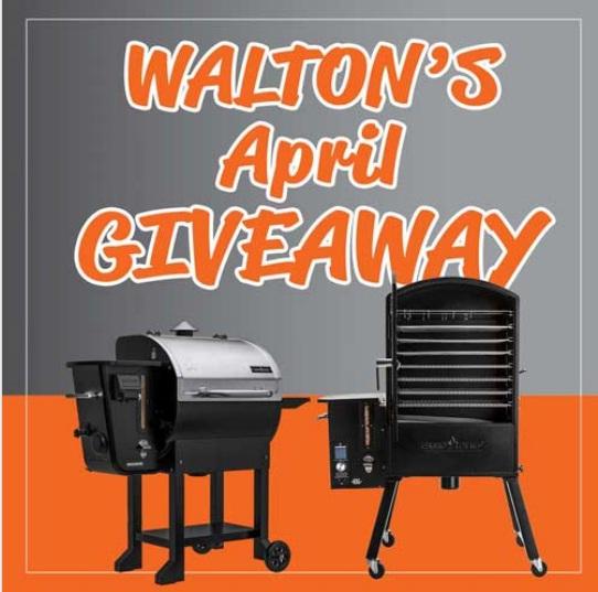 Walton April 2021 Giveaway
