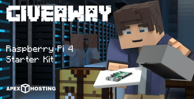 2GB Apex Hosting Server And A Raspberry Pi 4 Starter Kit Giveaway