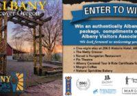 Albany Visitors Association Spring Giveaway
