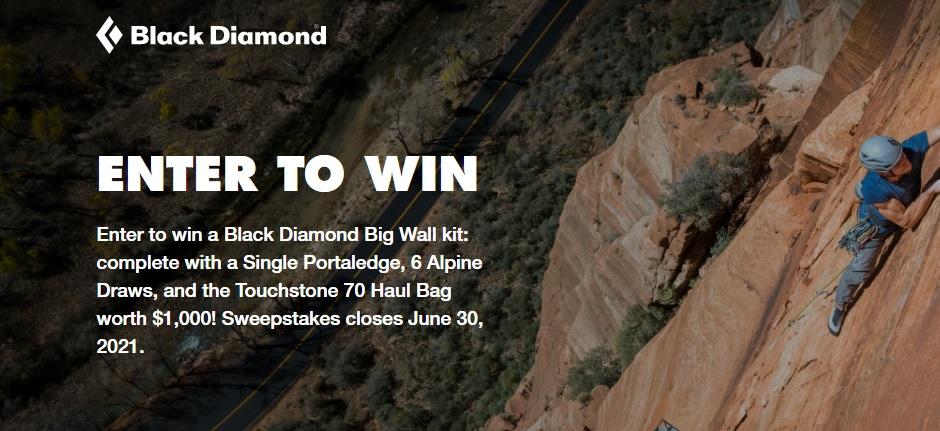 Black Diamond Big Wall Kit Giveaway