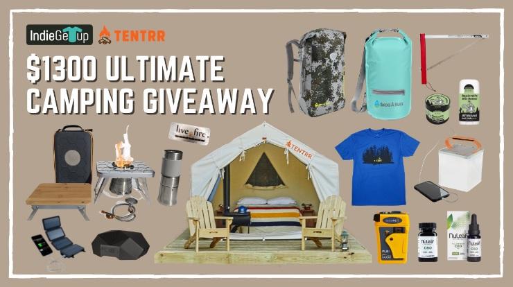 Indie Getup Camping Prize Bundle Giveaway