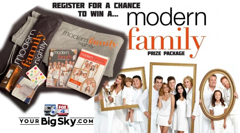 KSVI and KHMT Modern Family Sweepstakes