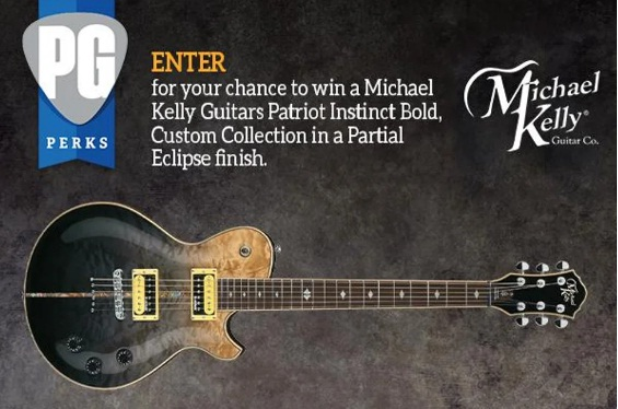 Michael Kelly Guitar Giveaway