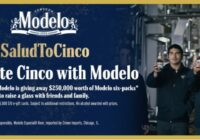 Modelo Cinco De Mayo $10 Gift Card Sweepstakes