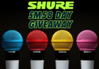SHURE SM58 Day Giveaway