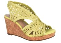 Terinee Woven Raffia Wedge Sandal With Memory Foam Giveaway