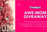 Treetopia Awe-mom Giveaway