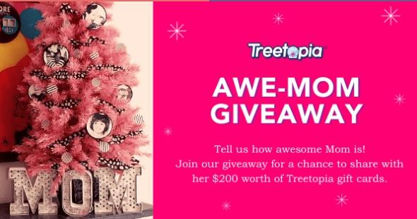 Treetopia Awe-mom Giveaway