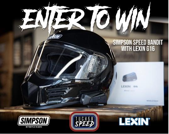 Tucker Speed Simpson Speed Bandit WLexin G16 Giveaway