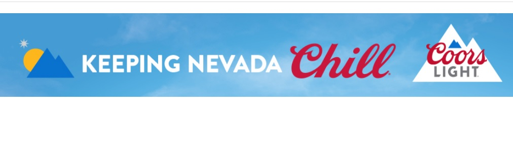 Coors Light Keeping Nevada Chill Sweepstakes