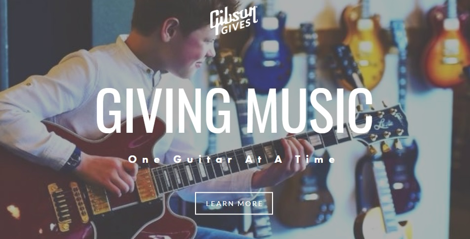 Gibson Gives Rig For Relief Giveaway