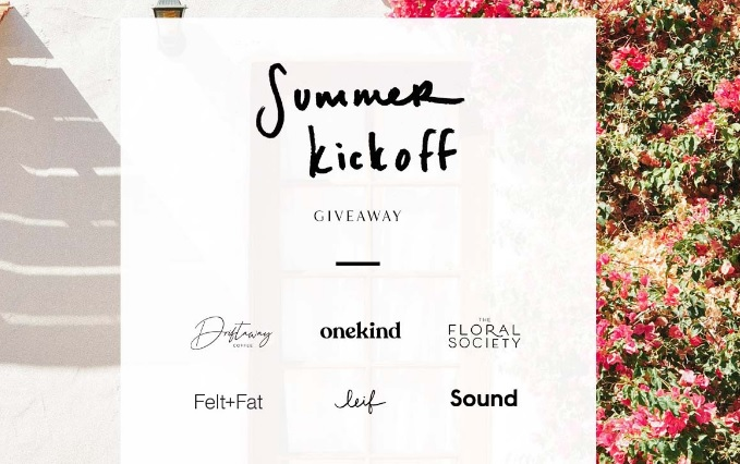 LEIF Summer Kickoff Giveaway