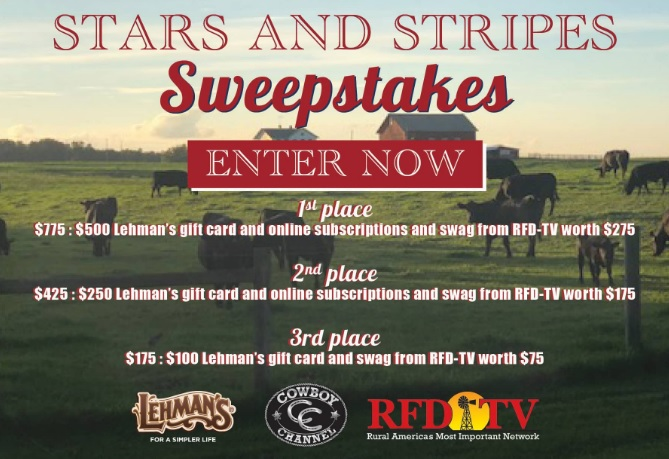 Lehman Stars and Strips Sweepstakes