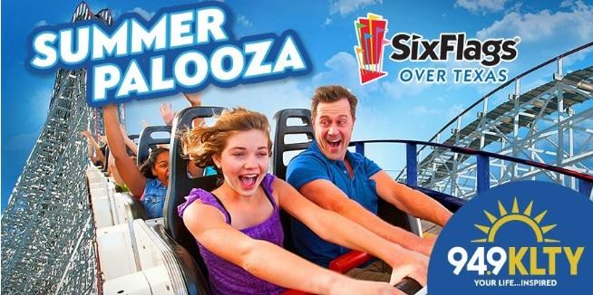 Six Flags Summer Palooza Sweepstakes