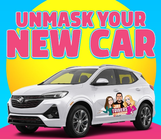 Unmask Your New Car Sweepstakes